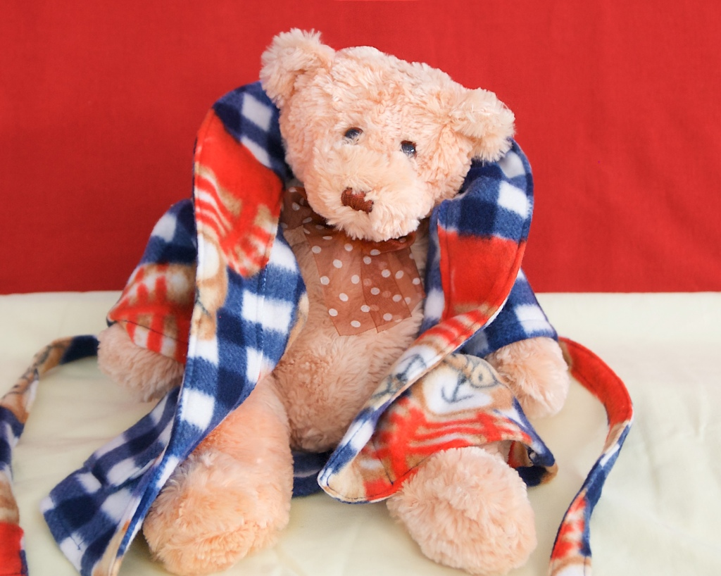 Paddy Bear in his dressing gown